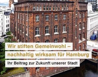 """Broschüre """"Wir stiften Gemeinwohl - nachhaltig wirksam für Hamburg"""""""